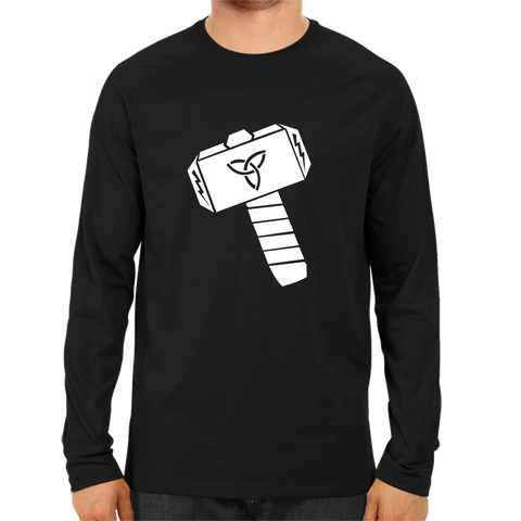 Thor Hammer Full Sleeve Black