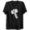 Image of Thor Hammer Half Sleeve Black