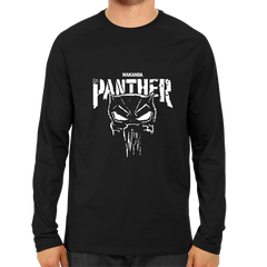 Wakanda Black Panther Full Sleeve Black