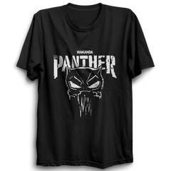 Wakanda Black Panther Half Sleeve Black