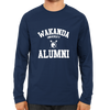 Image of Wakanda University Alumni Full Sleeve Navy Blue