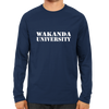 Image of Wakanda University Full Sleeve Navy Blue