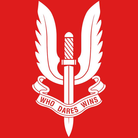 Who Dare Wins Polo T-Shirt Red