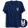 Image of Who Dare Wins Half Sleeve Navy Blue
