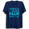 Image of CRIC 57- Win Lose Or Tie-Half Sleeve-Navy Blue