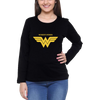 Image of Wonder Woman Full Sleeve Black