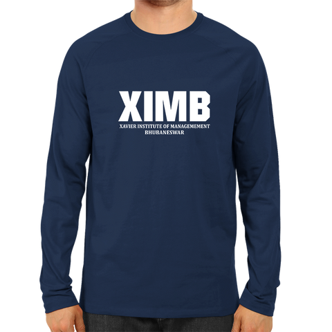 XIMB Full Sleeve-Navy Blue
