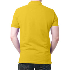 India Flag Polo T-Shirt Yellow
