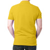 Image of India Flag Polo T-Shirt Yellow