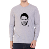 Image of CRIC 49 - Yuvraj Singh Face -Full Sleeve-Grey