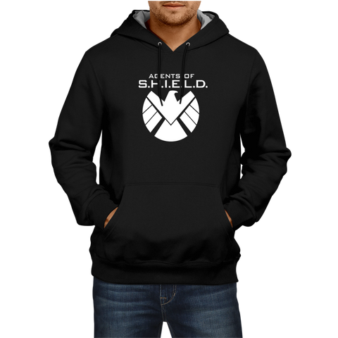 Agents Of Shield - Black Hoodie