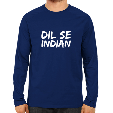 IPL 15 - Dil Se Indian - Full Sleeve Navy Blue