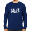 Image of IPL 15 - Dil Se Indian - Full Sleeve Navy Blue