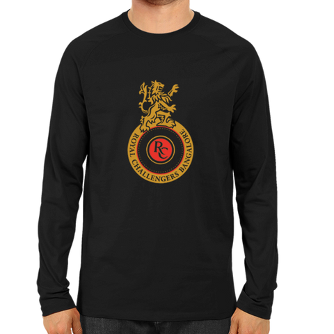 IPL 08 - Royal Challengers Bangalore - Full Sleeve-Black