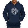 Image of Live Free Ride Hard -Navy Blue Hoodie