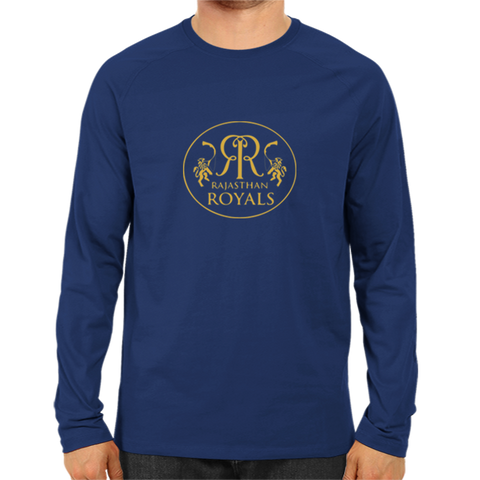 IPL 07 - Rajasthan Royals - Full Sleeve-Navy Blue