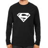 Image of Supeman Logo Full Sleeve Black