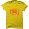 Image of IPL 13 - Whistle Podu 2-Half Sleeve Yellow