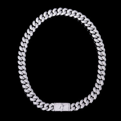 12mm Aporro A® Box Clasp Cuban Link Chain