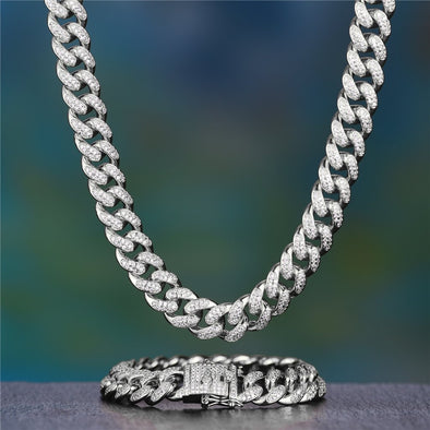 Aporro-cuban link chains jewelry