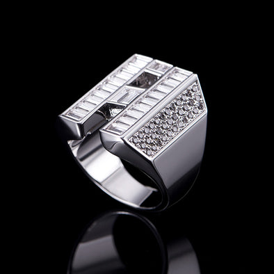 Aporro A® Designed White Gold Ring