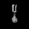 WONG Dragon Claw Pearl Dangly Earrings