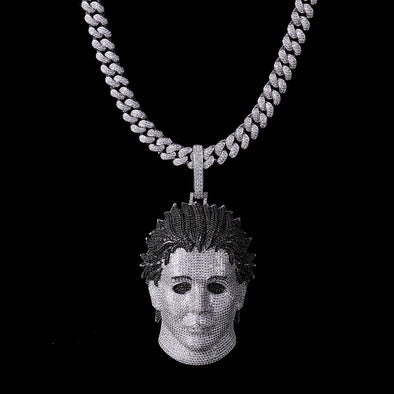 Iced Custom Michael Myers Pendant