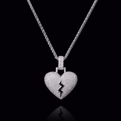 Broken Heart Pendant (Small)