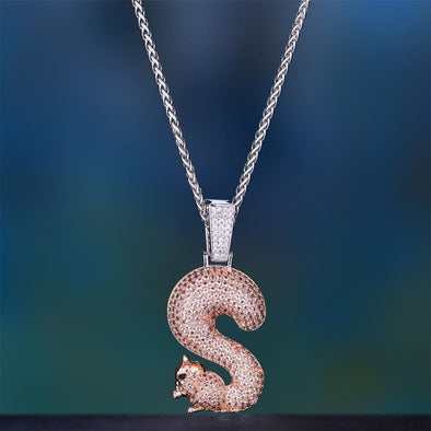Iced Squirrel S Pendant - Pendants
