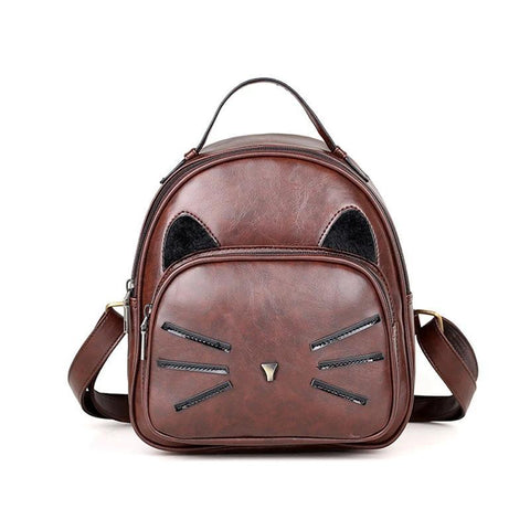Cat style backpack