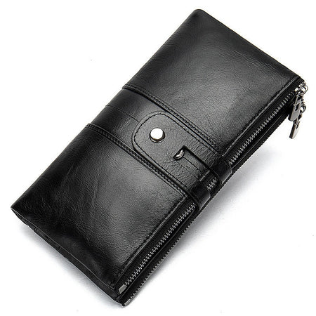Genuine Leather Women Wallet With Microfiber Synthetic,Cowhide
