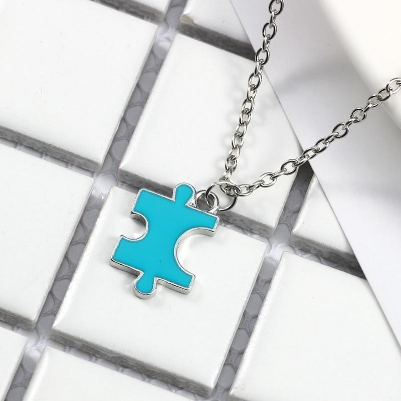 Puzzles Necklaces Best Friend Forever - 4 Pieces Set - GiftWorldStyle - Luxury Jewelry and Accessories