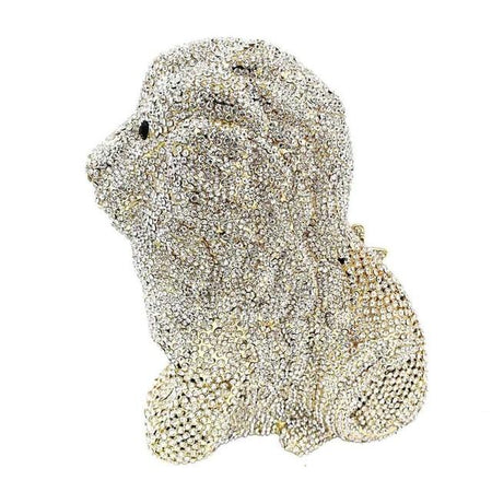 Animal Design Luxury Crystal Evening Bag - Lion Women Clutches - GiftWorldStyle - Luxury Jewelry and Accessories