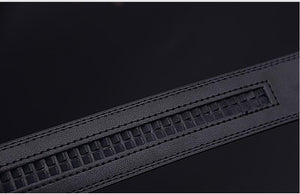 Belt For Men Cow Genuine Leather Automatic Buckle