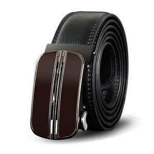 Belt For Men With Genuine Leather - Luxury Automatic Buckle - GiftWorldStyle - Luxury Jewelry and Accessories