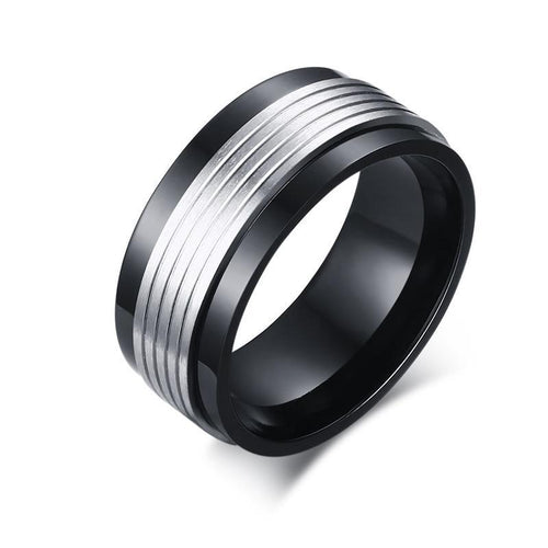Spinner Ring For Men From Stainless Steel With Metal Alloy - GiftWorldStyle - Luxury Jewelry and Accessories