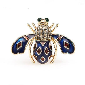 Bee Insects Enamel Brooch For Girls - GiftWorldStyle - Luxury Jewelry and Accessories