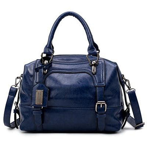 """Boston"" Women Vintage Style Handbag - Four Belts - GiftWorldStyle - Luxury Jewelry and Accessories"
