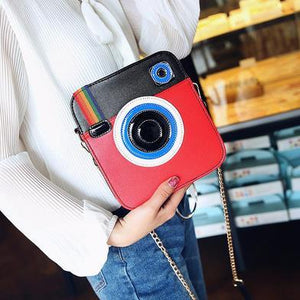 Camera Shaped Ladies Shoulder Handbag - GiftWorldStyle - Luxury Jewelry and Accessories