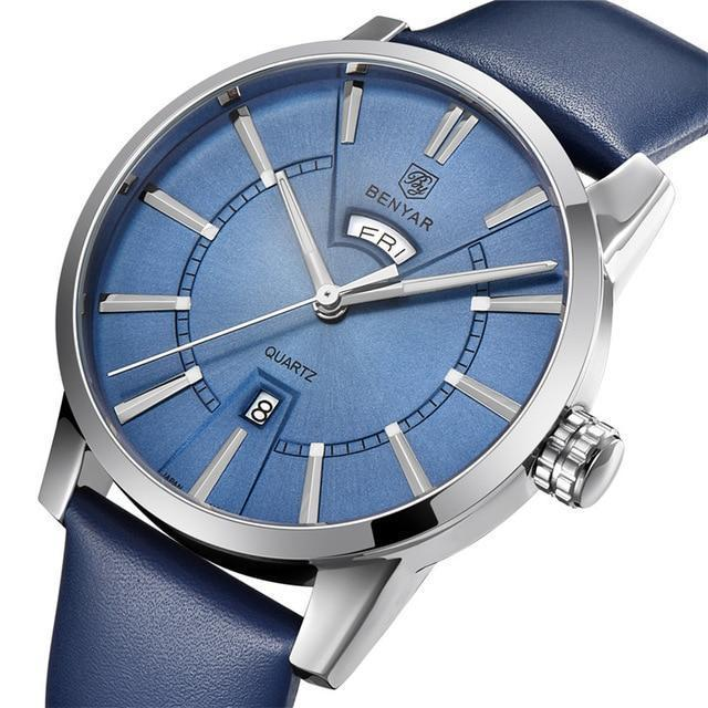 Casual Business Double Calendar Quartz Watch - GiftWorldStyle - Luxury Jewelry and Accessories