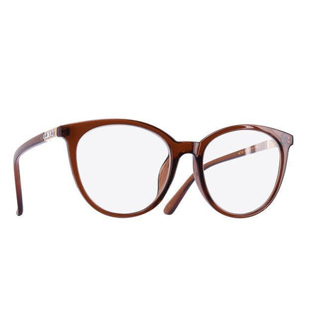 Cat Eye Eyeglasses Frame Reading Spectacles Women Plain Glasses Optical Oval Clear Lens - GiftWorldStyle - Luxury Jewelry and Accessories