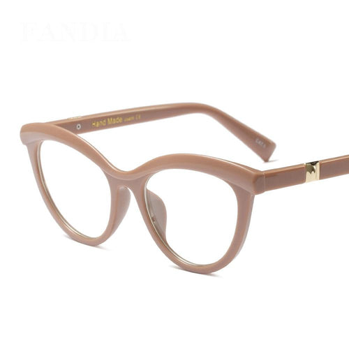 Cat Eye Reading Eyeglasses Optical Glasses Frames Glasses Women Frame Ultra Light Clear - GiftWorldStyle - Luxury Jewelry and Accessories