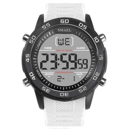 Digital Wristwatches Men LED Electronic Watch Big Dial Hot Male Sport Watches