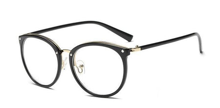 Glasses Frames Women Vintage Eyeglasses Plain Mirror - GiftWorldStyle - Luxury Jewelry and Accessories