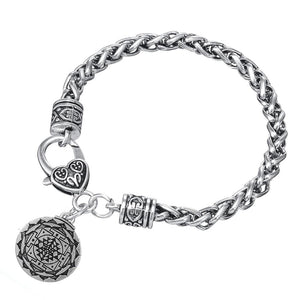 Great Wealth Hindu Goddess Pendant Yoga Hindi Jewelry Bulk Male Carter Bracelet Men