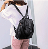 Leather Backpack With Embossing, Soft Handle And Zipper Pocket - GiftWorldStyle - Luxury Jewelry and Accessories