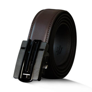 Leather Men Belt Genuine Cow Automatic Metal Buckle - Cowhide - GiftWorldStyle - Luxury Jewelry and Accessories