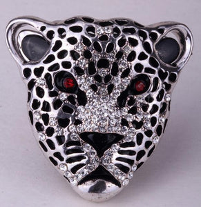 Leopard Ring For Women With Crystal From Zinc Alloy - GiftWorldStyle - Luxury Jewelry and Accessories