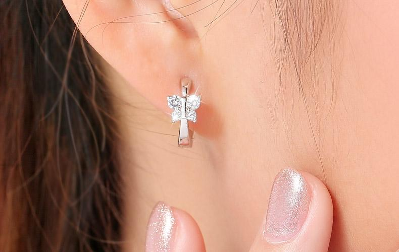 Luxury Butterfly Stud Earrings - Crystals - GiftWorldStyle - Luxury Jewelry and Accessories
