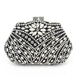 Luxury Crystal Clutch Bag - Party Purse For Women